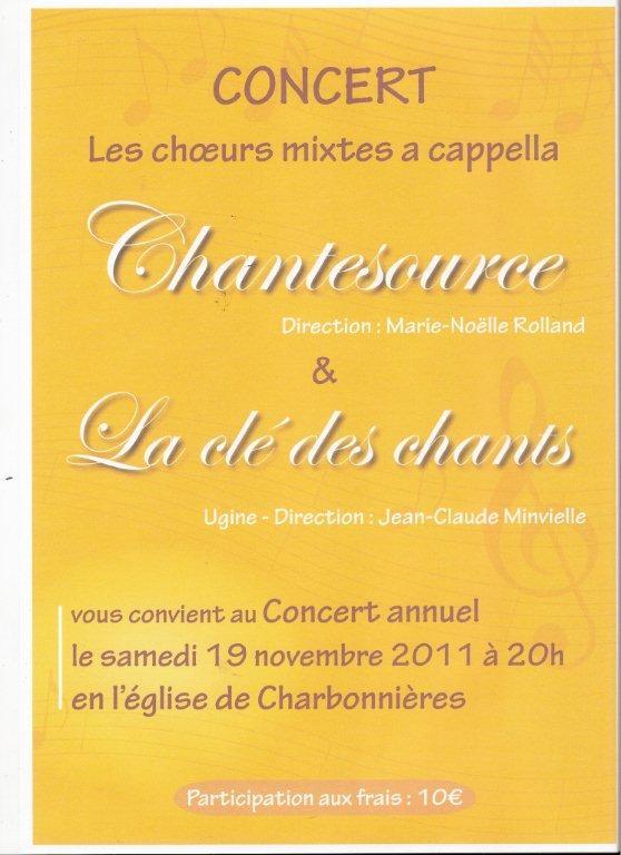 rencontres chorales 2011